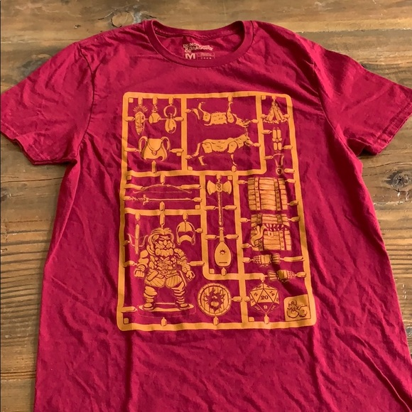 c54058b99de4 Lootwear Exclusive Shirts | Dungeons And Dragons Tshirt | Poshmark